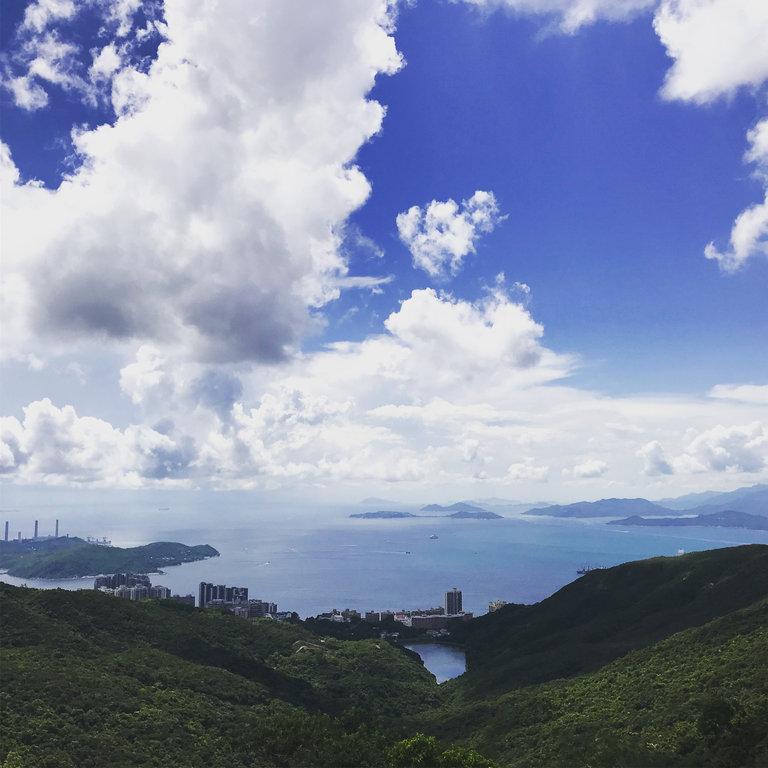 hong kong country view