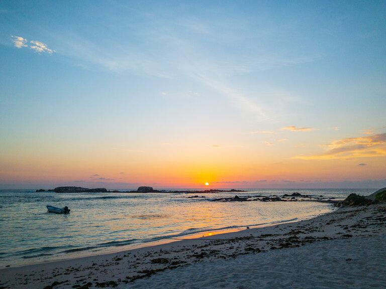 st regis punta mita sunset