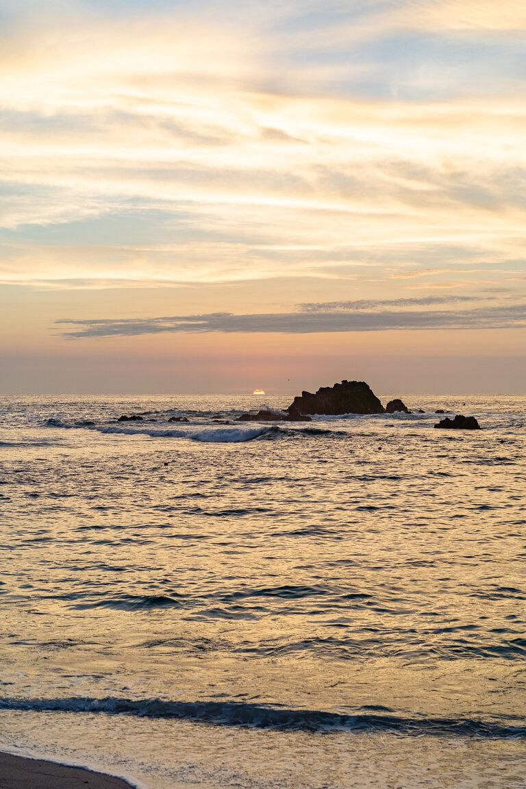 four seasons punta mita sunset