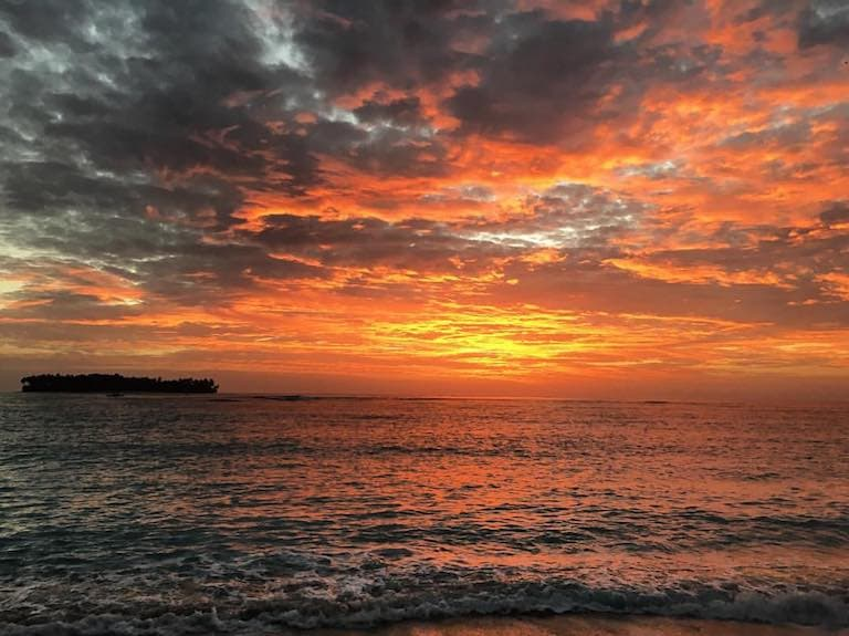 indonesia sunrise