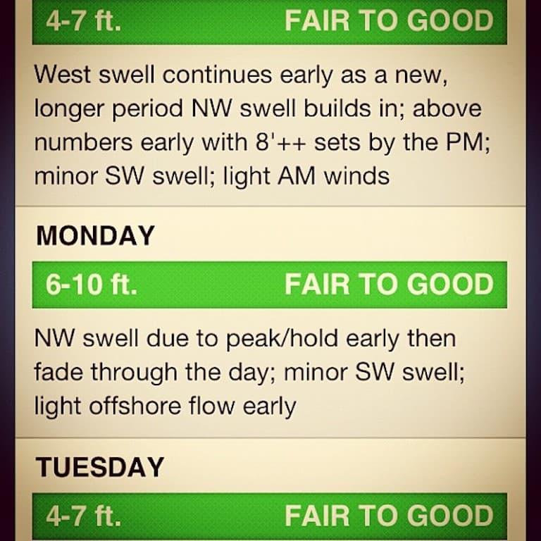 surfline-forecast